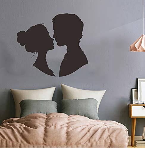 inyl Aufkleber Kunstwand Valentine 'S Home Wohnzimmer Dekor Wandaufkleber Dekoration Dropshipping Adesivo Murale # 30 ()