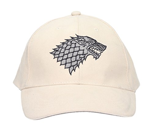 Game of Thrones - Stark Logo White Cap (SDTHBO89710)