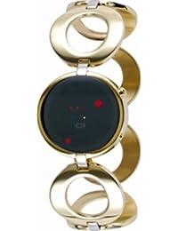 The One Damen-Armbanduhr Quarz Gold ORL313R2