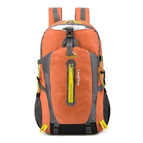 Männer Wandern Rucksack Wochenende Pack Cover Für Camping Reisen Wandern Rucksack 30 Liter Orange