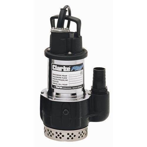 CLARKE ELECT SUBMERSIBLE WATER PUMP 230V 300 LTR/MIN by Clarke International