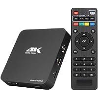 MYPIN Lecteur Numérique Multimédia Boîtier Media Player hdmi Mini HD TV USB 4k HDMI / AV PPT MKV AVI RMVB RM pour HDTV avec télécommande
