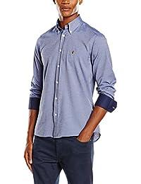 POLO CLUB Camisa Hombre Gentle Sir Oxford Top Azul XL