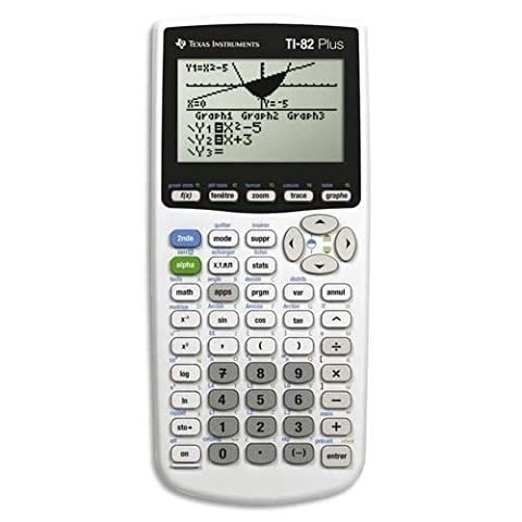 [Ancien Modèle] Texas Instruments TI 82 PLUS Calculatrice