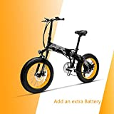 LANKELEISI X2000 20 × 4.0 Neumático Grande 48V 1000W 12.8AH Marco de aleación de Aluminio neumático Gordo Tire de la...