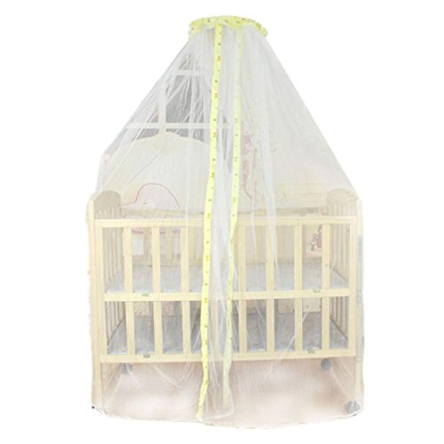 tonsee-summer-baby-bed-mosquito-mesh-dome-curtain-net-for-toddler-crib-cot-canopy-yellow
