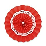 Funcart Red 3 Layers Paper Fan Kit Paper...