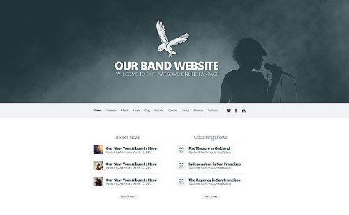 HARMONY – MUSIC / BAND WEBSEITEN ERSTELLUNG & GESTALTUNG (INKLUSIVE WEBDESIGN & PROGRAMMIERUNG) VON [ARBYTEN.DE]