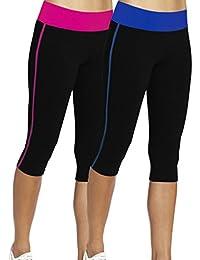 iLoveSIA Femme 3/4 Leggings de sport