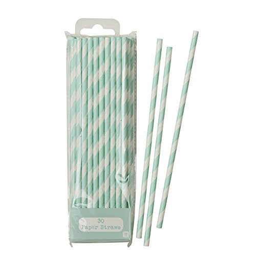 talking-tables-mix-and-match-paper-straws-for-a-tea-party-general-party-decoration-mint-30-pack