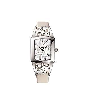 Balmain Haute Couture Collection Femme Bracelet Cuir Boitier Acier Inoxydable Quartz Montre B33715182