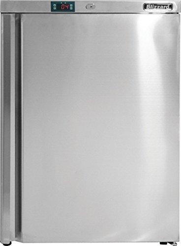 blizzard-ucr140-fridge-under-counter-stainless-steel