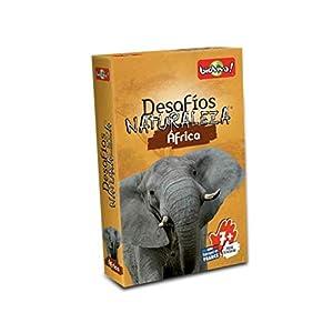 Bioviva- Juego de Cartas Desafíos Naturaleza Africa, Color (Asmodee DES07ES)
