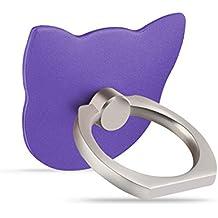soporte del sostenedor del teléfono del anillo de dedo de noche perezoso palo de hebilla de cinturón ( Color : #4 )