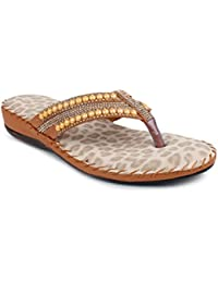 London Steps, Sandali donna marrone Tan 36.5, marrone (Tan), 40