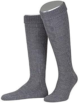 Kniebundstrumpf in grau von Lusana