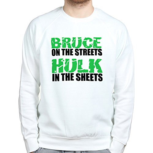 Bruce in the Streets Funny Mens (Anzug Unglaubliche Hulk)