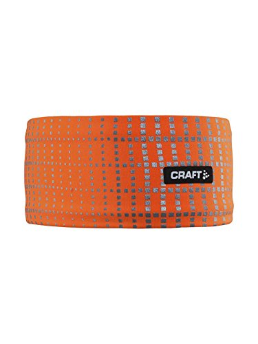 Craft Brilliant 2.0 Running Sichtbarkeit Stirnband Unisex XL Flourange Reflective