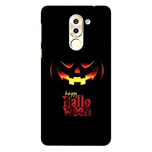 CrazyInk Premium 3D Back Cover for Honor 6x - Happy Halloween