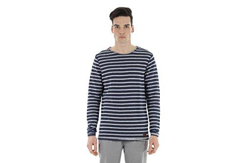 Blend Stripe Pullover Dunkelblau Grau Dunkelblau