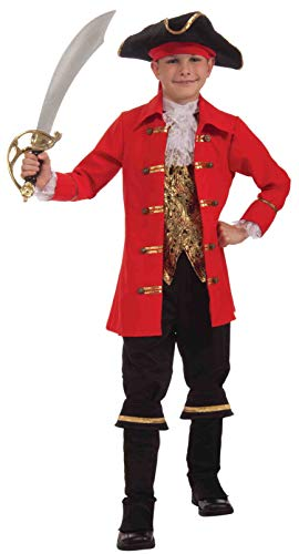 Cutlass Kostüm Captain - Pirate Captain Cutlass Child Costume Small