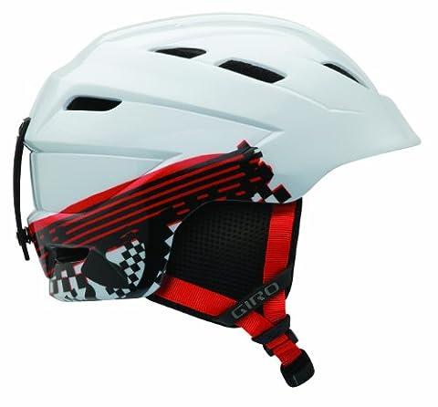 Giro Junior Nine. 10Children's Helmet White White logo streak Size:M (55.5-59 cm)