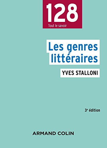 Les genres littéraires - 3e éd.