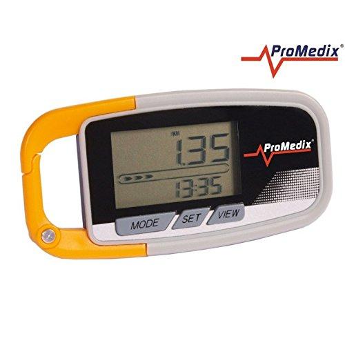 ProMedix-PR-315-Pedometro Multifunzione, accelerometro, Contatore di passi, distanza e calorie quemadas Cronometro Fitness