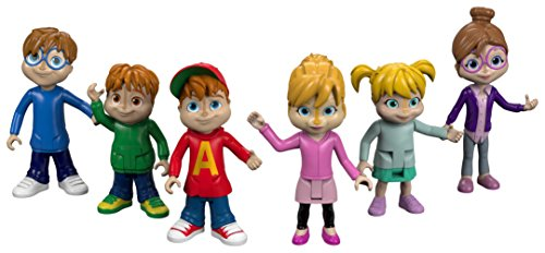 Fisher-Price Alvin & the Chipmunks We're The Chipmunks Collectible Figures Multipack