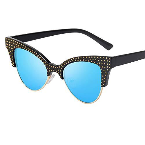639e5b42e9 Gafas de sol - Gafas para hombre y mujer Vintage Protección UV Deportes  Exteriores Vasos planos