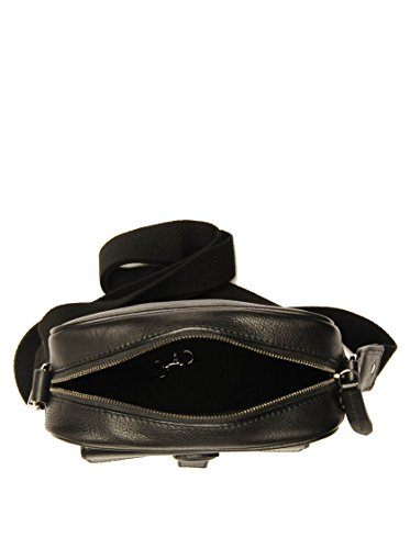 The Bridge Surrey borsa a tracolla pelle 22 cm Nero