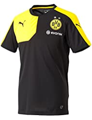 PUMA Herren Trikot BVB Training Jersey with Sponsor