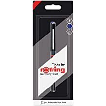 Rotring Tikky bolígrafo roller, punta fina, tinta azul