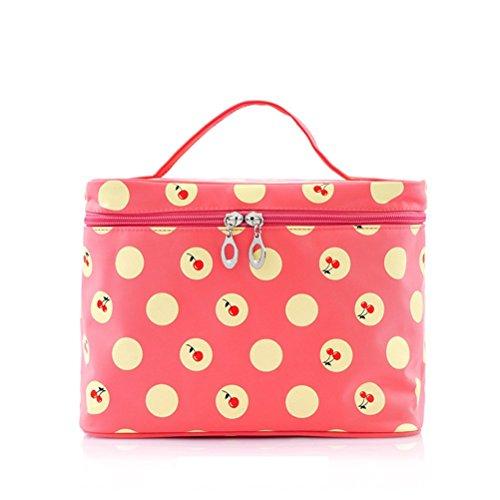 LEORX Neceser Viaje mano cosmética bolsa bolsa lavado de artículos de tocador bolsa organizador de maquillaje