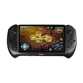 7-Zoll-HD-Core Qual Spiel für Android Gaming Tablet PC Game Pad, Android 4.2 Jelly Bean Quad Core CPU RK3188 Handspiel-Konsole kapazitive Screen-1280 * 800 2GBDDR3 - Schwarz