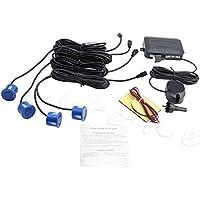 Kit de 4 sensores de aparcamiento para sistema de radar de marcha atrás del coche con