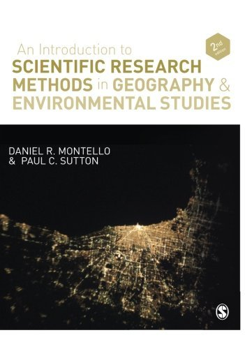 An Introduction to Scientific Research Methods in Geography and Environmental Studies by Daniel R. Montello (2012-12-26)