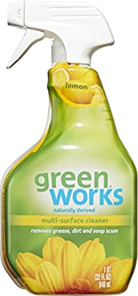 Green Works All Purpose Cleaner Spray, Simply Lemon, 32 Oz (Pack of 3)