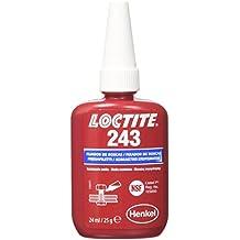 Henkel - Loctite 243 Bc 24Ml Fijador Resistencia Media Piezas Aceitadas