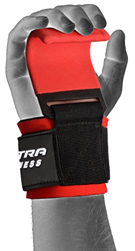 ULTRA-FITNESS-Weight-Lifting-Gym-Training-Hook-Wrist-Support-Gripper-Straps