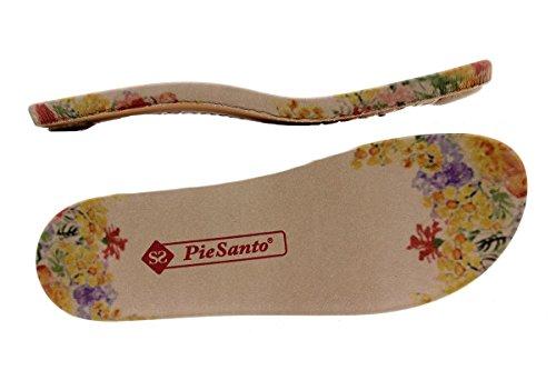 Scarpe donna comfort pelle PieSanto 1503 Sandali Plantare Estraibile larghezza speciale Marino
