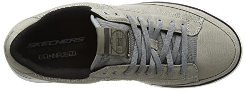 Skechers Arcade Chat Mf, Sneakers Basses homme Gris