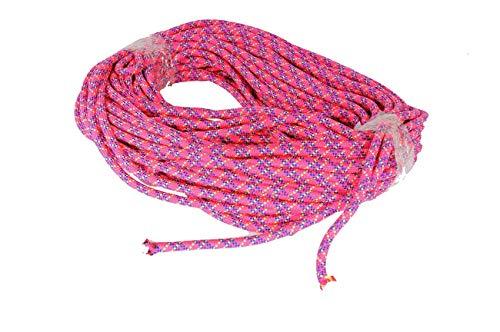 50m Bergseil Kletterseil rosa neuwertig Schaukelseil Tau Seil