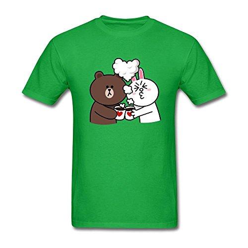 Futhure Hombres de línea Ciudad algodón DIY T Shirt