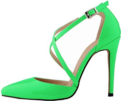 Salabobo , Sandales Compensées femme Vert