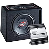 Mac Audio Mac Xtreme 2000 - Sistema de subwoofers (1 x Mac Xtreme Sub 110R, 1 x Max Xtreme Amp 2000) negro