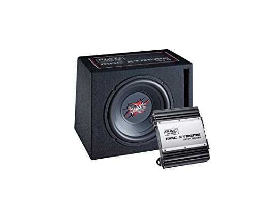 Car-audio-lautsprecher (Mac Audio Mac Xtreme 2000 Car-Hifi Paket (1x Mac Xtreme Sub 110R, 1 x Max Xtreme Amp 2000))