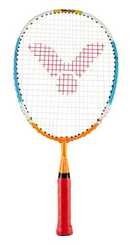 VICTOR Badmintonschläger Starter, Gelb/Rot, 43.0 cm, 116/4/3