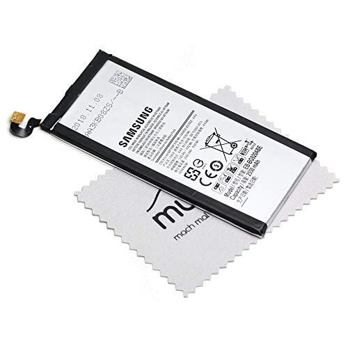 Akku für Samsung Original EB-BG920ABE für Samsung Galaxy S6 (G920F) mit mungoo Displayputztuch