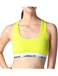 Lapasa Soutien-gorge Brassière quotidienne bralette en Coton Premium - Sans armature Sexy Tendance